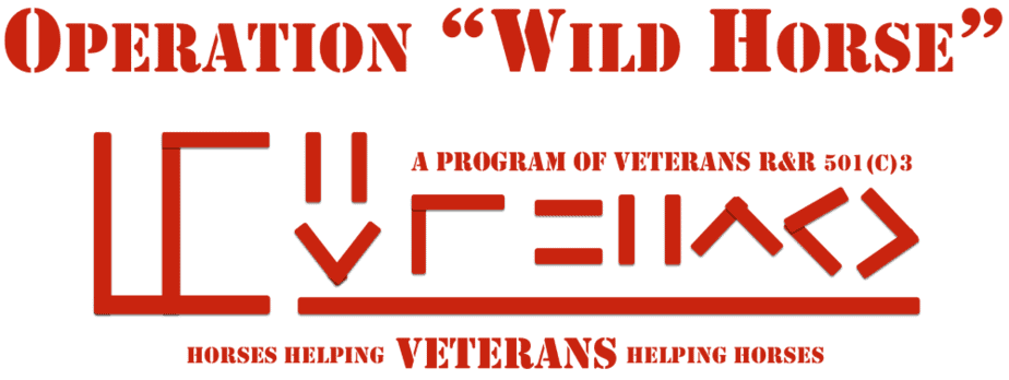 Operation Wild Horse logo.