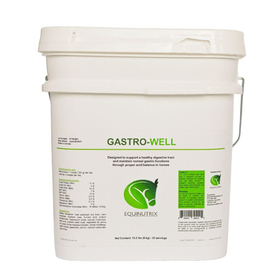 Gastro-Well can help prevent ulcers in your horse.