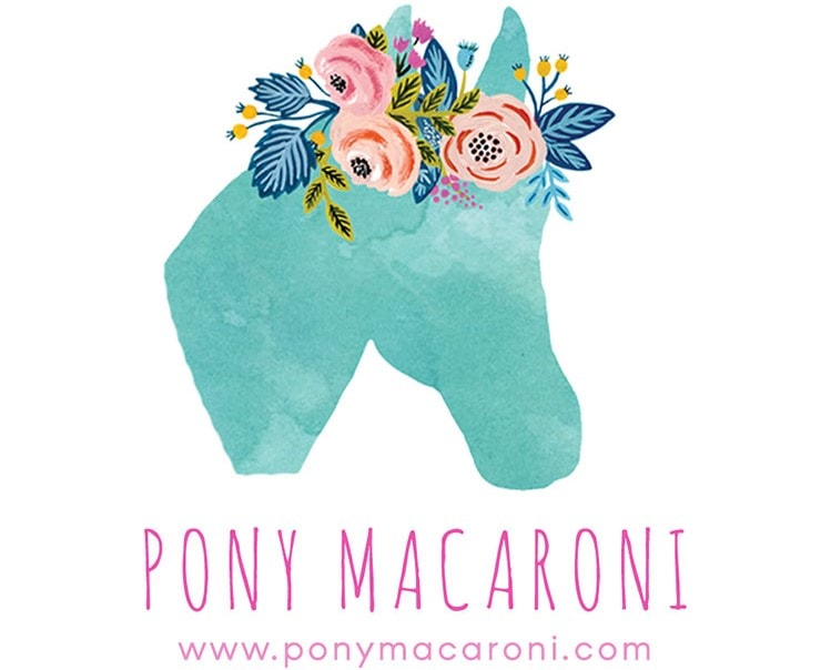 Pony Macaroni logo.