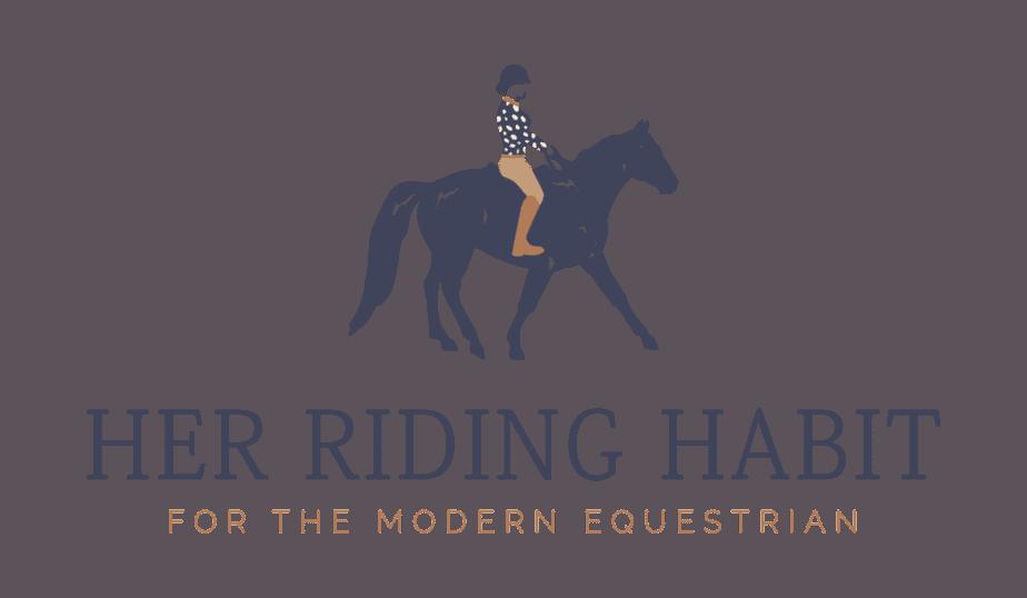 Her Riding Habit logo.