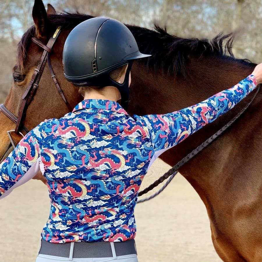 Her Riding Habit dragon polo.