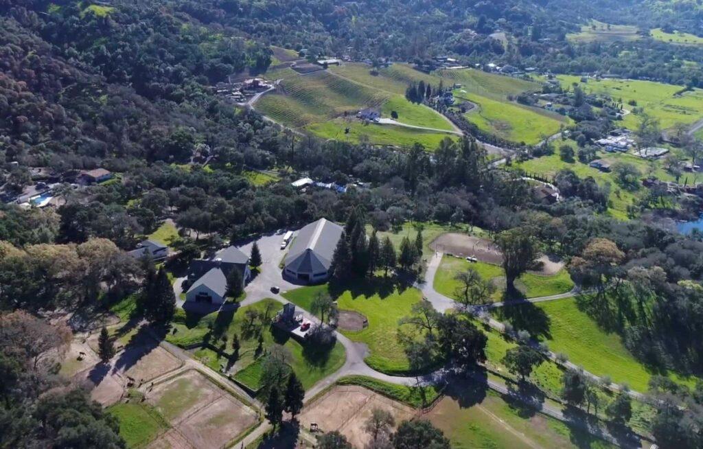 Tulucay Farms in beautiful Napa, California.